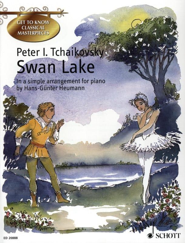 Swan Lake - TCHAIKOVSKY - Partition - Piano - laflutedepan.com