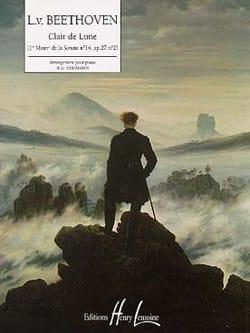 Clair De Lune BEETHOVEN Partition Piano - laflutedepan