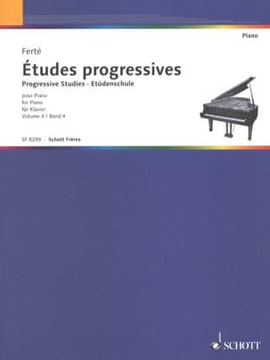 Etudes Progressives Volume 4. Armand Ferté Partition laflutedepan