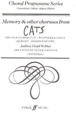 Memory et Autres Choeurs Extraits de Cats laflutedepan