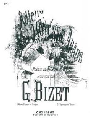 Adieux de L'hôtesse Arabe. Mezzo - BIZET - laflutedepan.com