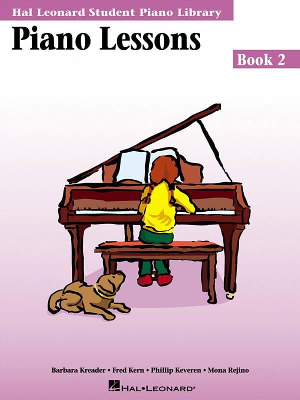 Piano lessons Book 2 - laflutedepan.com