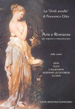 Le Umili Ancelle - Francesco Cilea - Partition - laflutedepan.com