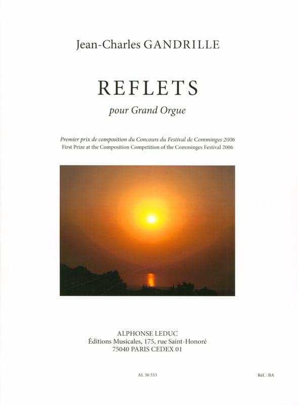 Reflets - Jean-Charles Gandrille - Partition - laflutedepan.com