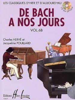 de Bach à nos Jours - Volume 6B DE BACH A NOS JOURS laflutedepan