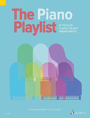 The Piano Playlist - Partition - di-arezzo.fr