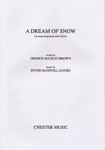 Dream of snow - Davies Peter (Sir) Maxwell - laflutedepan.com