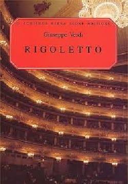 Rigoletto VERDI Partition Opéras - laflutedepan