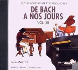 de Bach à nos Jours - Volume 6B - CD DE BACH A NOS JOURS laflutedepan