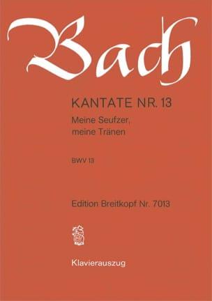 Cantate 13 Meine Seufzer, Meine Tränen - BACH - laflutedepan.com