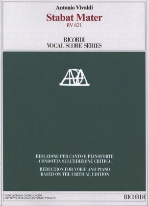 VIVALDI - Stabat Mater - Critical Edition - Partition - di-arezzo.com