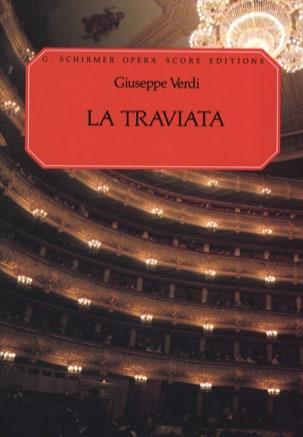 La Traviata VERDI Partition Opéras - laflutedepan