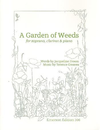 A Garden Of Weeds - Terence Greaves - Partition - laflutedepan.com
