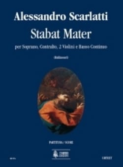 Stabat Mater Alessandro Scarlatti Partition Duos - laflutedepan