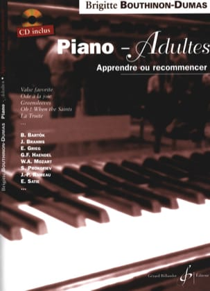Piano-Adultes Brigitte Bouthinon-Dumas Partition Piano - laflutedepan