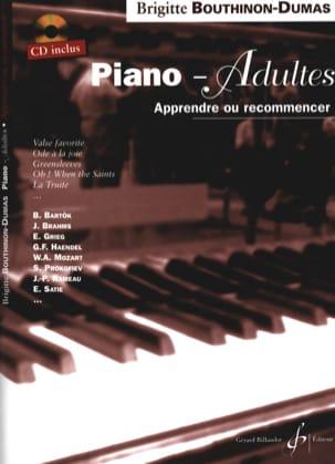Piano-Adultes Brigitte Bouthinon-Dumas Partition Piano - laflutedepan