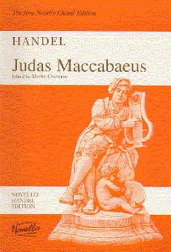 Judas Maccabaeus HWV 63 - HAENDEL - Partition - laflutedepan.com