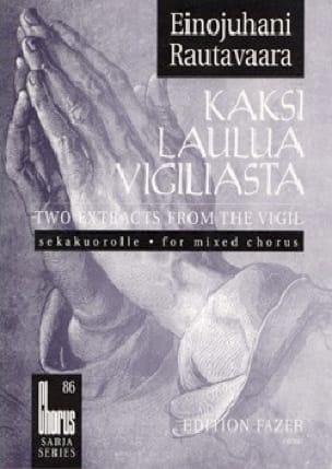 Kaksi Laulua Vigiliasta - Einojuhani Rautavaara - laflutedepan.com