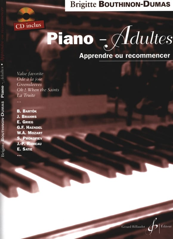 Piano-Adultes - Brigitte Bouthinon-Dumas - laflutedepan.com