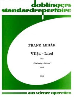 Vilja-Lied. Die Lustige Witwe LEHAR Partition Opéras - laflutedepan