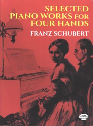 Selected Piano Works. 4 Hands SCHUBERT Partition Piano - laflutedepan