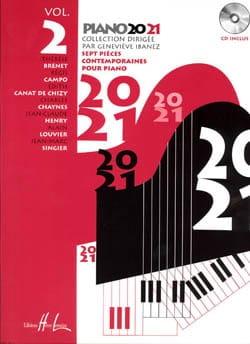 Piano 20-21 Volume 2 genevieve Ibanez Partition Piano - laflutedepan