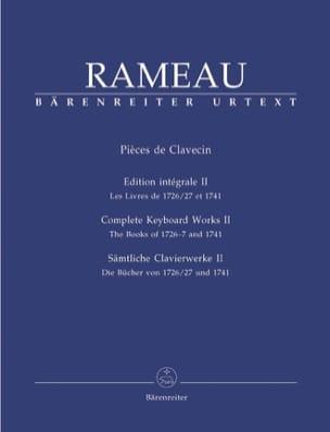 Jean-Philippe Rameau - Volumen 2 de Clapsichord Parts - Partition - di-arezzo.es