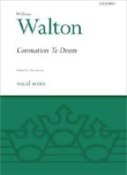 Coronation Te Deum. 2ème édition William Walton Partition laflutedepan