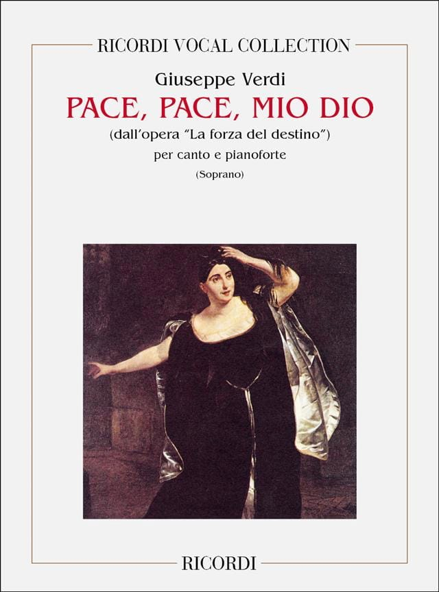 Pace, Pace, Mio Dio. Forza Del Destino - VERDI - laflutedepan.com