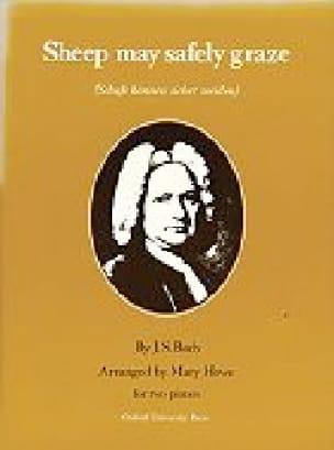 Sheep May Safely Graze. 2 Pianos - BACH - Partition - laflutedepan.com