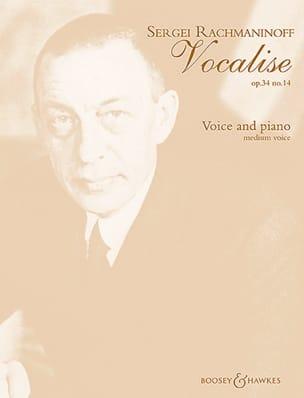Vocalise Opus 34-14. Mezzo RACHMANINOV Partition laflutedepan