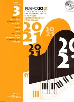Piano 20-21 Volume 3 Geneviève Ibanez Partition Piano - laflutedepan