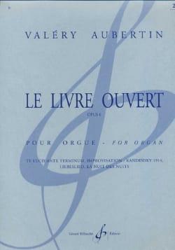 Le Livre Ouvert Opus 6 Volume 1 Valéry Aubertin Partition laflutedepan