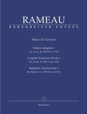 Jean-Philippe Rameau - Volumen de partes de clavecín 1 - Partition - di-arezzo.es
