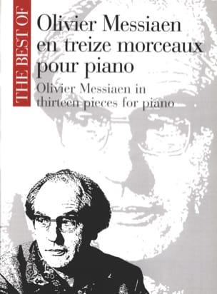 Olivier Messiaen - 13 piezas para piano - Partition - di-arezzo.es