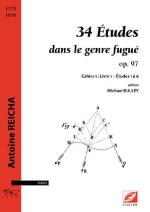 34 études dans le style fugué op. 97 - REICHA - laflutedepan.com