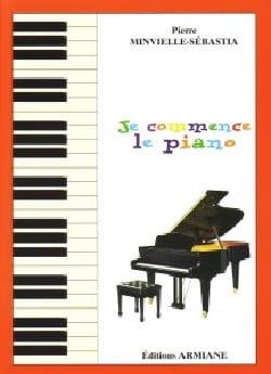 Je Commence le Piano Pierre Minvielle-Sébastia Partition laflutedepan