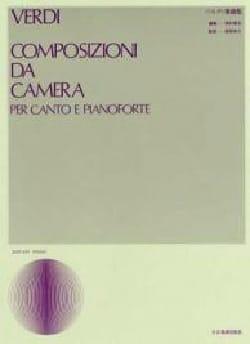 VERDI - Composizioni Da Camera - Partition - di-arezzo.es