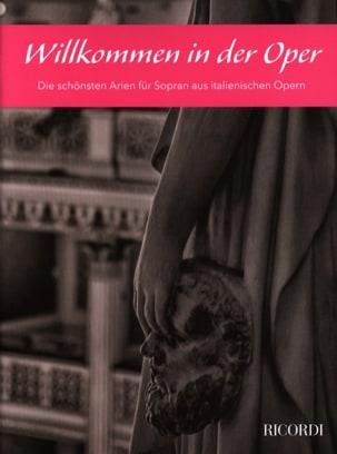 Willkommen in der Oper. Soprano - Partition - laflutedepan.com