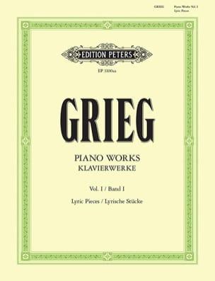 Oeuvre Pour Piano. Volume 1 GRIEG Partition Piano - laflutedepan
