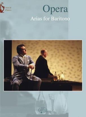 Opera Arias Baryton Partition Recueils - laflutedepan