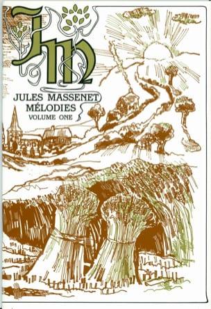 Mélodies, Volume 1. MASSENET Partition Mélodies - laflutedepan