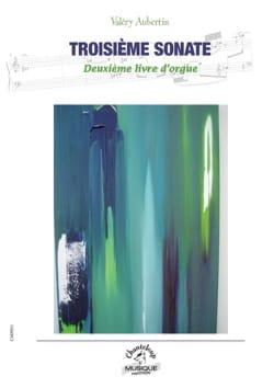 2ème livre d'orgue. 3ème sonate Valéry Aubertin Partition laflutedepan