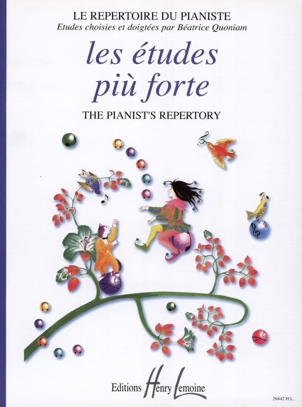 Les Etudes Piu Forte - Partition - Piano - laflutedepan.com