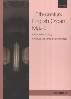 18th century english organ music. Volume 3 Partition laflutedepan