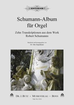 Schumann-Album für Orgel SCHUMANN Partition Orgue - laflutedepan
