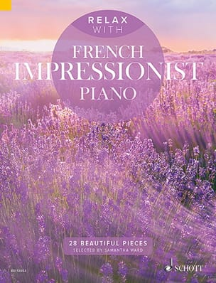 Relax with french impressionnist piano Partition laflutedepan