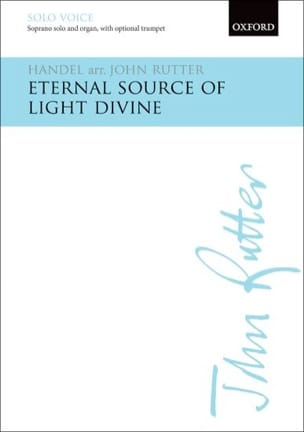 Eternal Source of Light Divine HAENDEL Partition laflutedepan