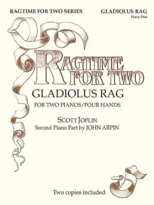 Gladiolus Rag. 2 Pianos JOPLIN Partition Piano - laflutedepan