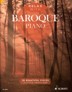 Relax with Baroque piano Partition Piano - laflutedepan